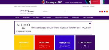 CLSO présente son nouveau site internet