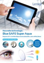Nouveau verre de stock LenQo:  « Blue SAFE Super Aqua »