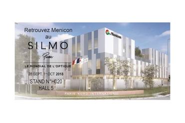 Menicon de retour au SILMO 2018