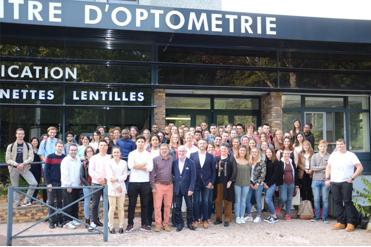 Parrainage Novacel - Institut et centre d'Optométrie promo BTSOL 2019
