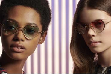 la séduction féminine des lunettes Chloé vue à travers les verres du nouveau modèle « Rosie »