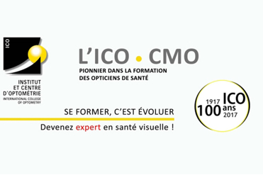 ICO-CMO Nouveau catalogue de formations pour opticiens
