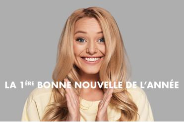 LA 1ERE BONNE NOUVELLE DE L'ANNEE