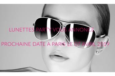 J-2 pour Lunettes Party à Paris