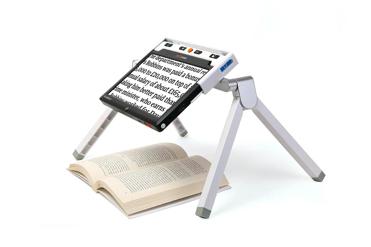 Clover 10, loupe électronique avec support lecture/écriture