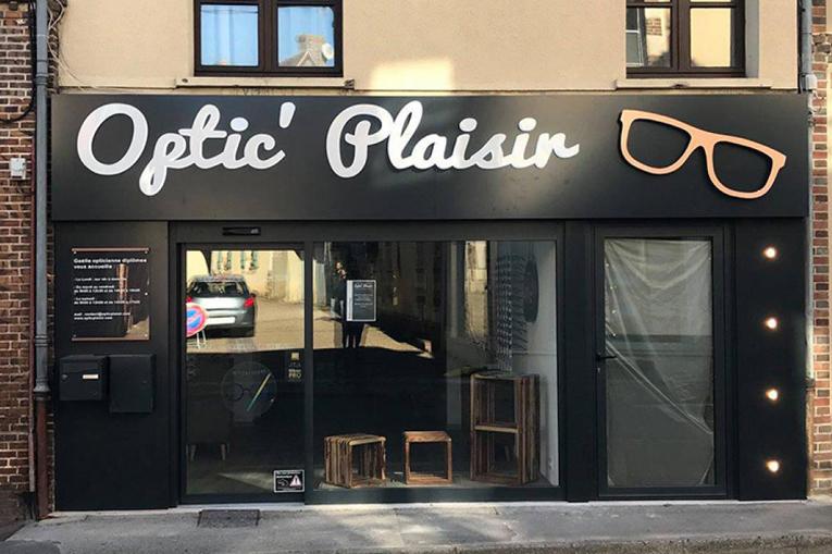 Renovation d'un magasin d'optique à Longny-les-Villages