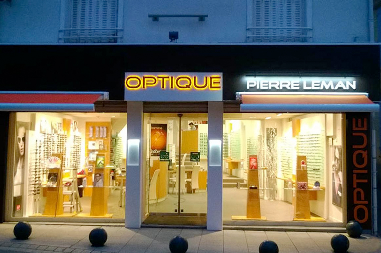 Renovation d'un Opticien à Dreux