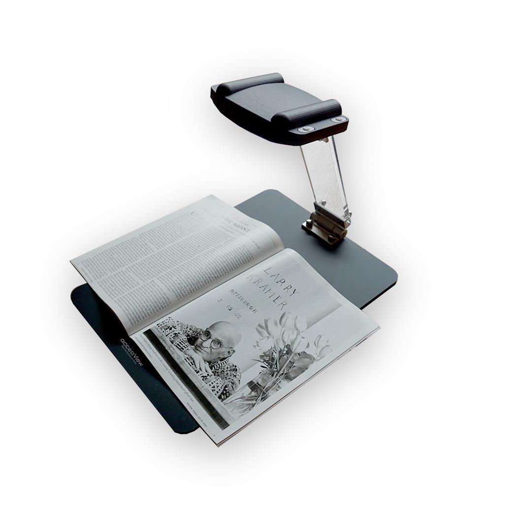 Accessview, téléagrandisseur ultra portable