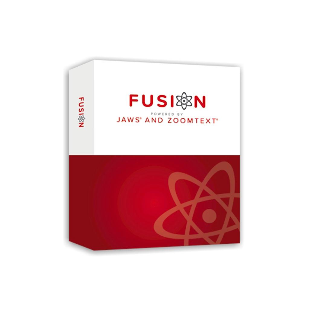 Fusion, programme d'agrandissement et de lecture vocale sur pC